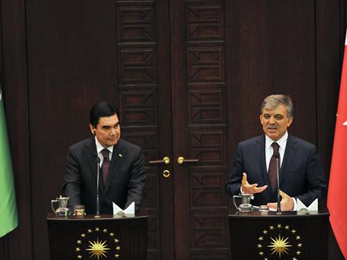 f69a57481 President Gül Underscores Great Momentum Gained in Turkish-Turkmen Relations