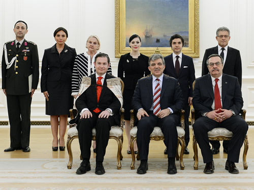 New Zealander Ambassador Presents His Letter of Credence to President Gül